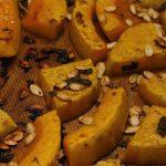 Courges grillées au four au garam masala